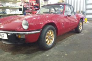 Beautiful Triumph Spitfire 1500