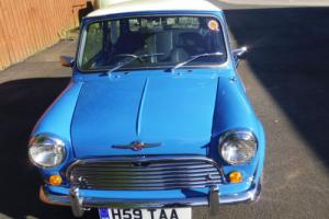 1990 ROVER MINI MAYFAIR BLUE Concourse/ show condition there is not one better