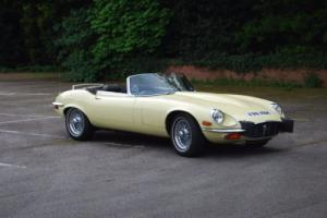 Jaguar E-type, Roadster, 1974.