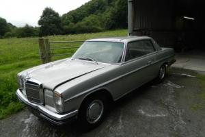 MERCEDES W114 250 CE SILVER RESTORATION PROJECT