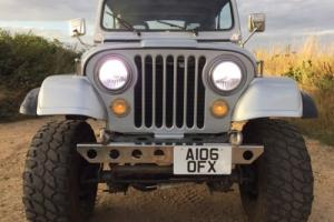 AMC JEEP CJ7 WRANGLER 4X4 MONSTER TRUCK OLDTIMER CLASSIC LHD AUTO SWAP PX