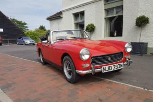 1973 MG MIDGET RWA RED 12 MONTHS MOT FREE TAX