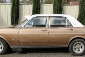 Ford Fairmont Sedan 1969 XT Falcon Suit Resto Daily Driver OR GT Tribute