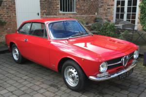 1972 ALFA ROMEO GT JUNIOR 1.6 RED 2 Owners from new, full history from new.