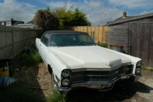 1966 CADILLAC COUPE DEVILLE . RIPE FOR EASY RESTORATION DELIVERY AVAILABLE P/X