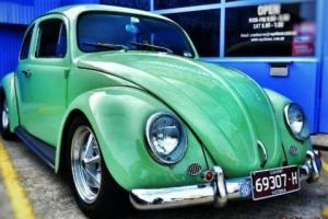 1961 VW BEETLE 1600CC TWIN PORT CAL LOOK CLUB REGO, OLD SCHOOL, RAT ROD, HOT ROD