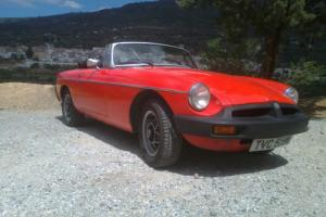 MGB Roadster.1979,12 months mot.Reliable,solid roadster ready to enjoy.LE wheels
