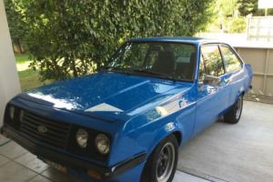 Escort MK2 RS2000 in perfect condition, Ford blule paint! No Reserve!