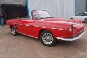 1961 RENAULT FLORIDE / CARAVELLE CONVERTIBLE RED