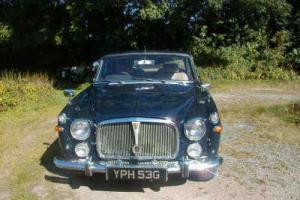 1969 Rover P5B 4 door Coupe 3.5L V8 automatic, tax free, MOT'd, VGC throughout.