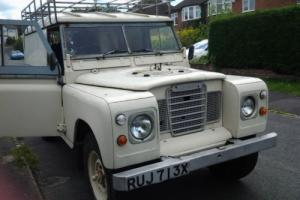 "1982 LAND ROVER 109"" - 4 CYL WHITE"