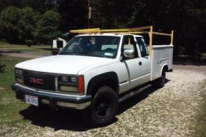 1988 GMC Other Extended Cab Utility Bed
