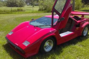 1986 Replica/Kit Makes Countach