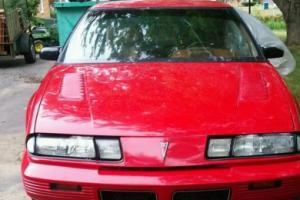 1989 Pontiac Grand Prix 3.1 intercool turbo