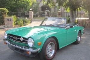 1975 Triumph TR-6 TR6 Photo