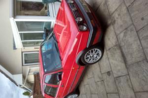 1990 VOLKSWAGEN GOLF GTI RED