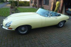 Jaguar E type 4.2 series 1.5 roadster