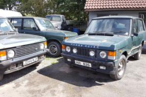 RANGEROVERS 2 AND 4 DOOR FOR RENOVATION ALSO PARTS FOR SALE