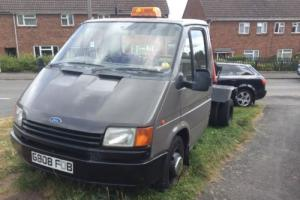 Ford Transit recovery truck mk3