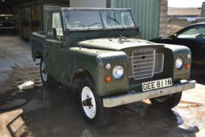 "Land Rover Series 3 88"" Restoration Project"