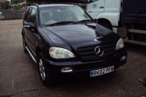 Mercedes Benz ML 270 CDI 4X4 DEISEL FULL FULL HISTORY NEW MOT