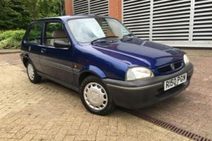 1998 ROVER 100 ASCOT BLUE - JUST 62,000 MILES. MOT JUNE 2017 (NO ADVISORIES)