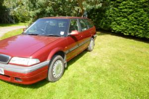 Rover 418 estate SLD turbo. 1996 not many left. needs work for mot.