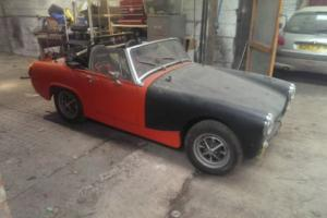 MG midget competition car project