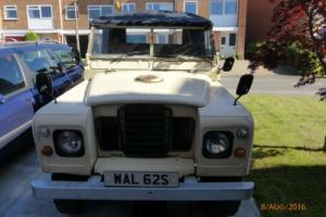 1978 Series 3 SWB Land Rover