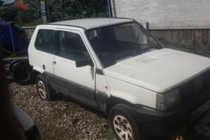 fiat panda 4x4 doner kit car project restoration project off roader