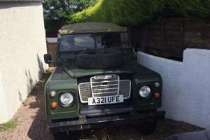 "Land Rover 88"" 4CYL 3 series Restoration Project - Failed MOT 1984 Photo"