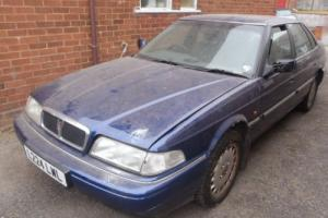 RARE BARN FIND ROVER 800 STERLING 2.7 V6 FSH 2 OWNER CLEAN 99P NO RESERVE RARE