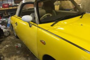 Nissan Figaro - Yellow - Spares or repair Photo