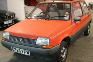 1987 Renault 5 TL Rio, 53,082 Miles, MOT January 2017, Original, Lots Of History Photo