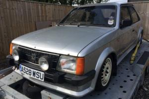 Astra GTE Mk1 Project , 2.0 Red Top , Twin 45's , F20 Boxt. RELISTED !!!