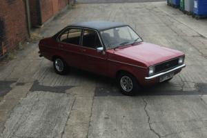 MK2 FORD ESCORT 1600 GHIA 4 DOOR Photo