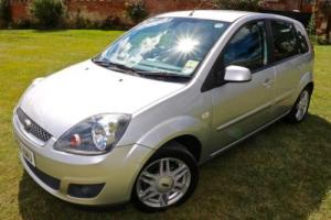 2007 (56) Ford Fiesta 1.6 Ghia, VERY LOW MILEAGE, FULL SERVICE HISTORY