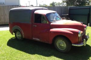 Morris Minor VAN EX RAA Project 'Brisbane' in QLD