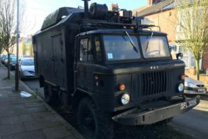 GAZ 66 RADIO BODY SUITABLE FOR CAMPER LPG CONVERTION OR EXPEDITION V8 POWERED