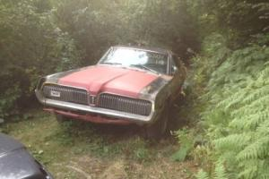 MERCURY COUGAR 1968, ford mustang runing gear, V8, Muscle car