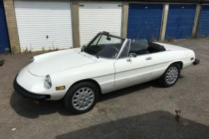 ALFA ROMEO SPIDER 1979 NEW PAINT, FRESH NEVADA IMPORT, ZERO RUST, NEW MOT