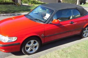 Saab 2001 9 3 S Convertible 2L Turbo in NSW