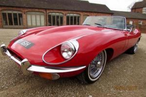 JAGUAR 'E' TYPE ROADSTER 4.2 1970 GROUND UP RESTORATION COMPLETED IN 2015
