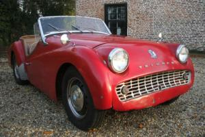 TRIUMPH TR3 GOOD RUNNER