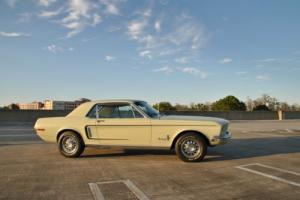 1968 Ford Mustang J Code, Numbers Matching, Full bare metal restoration complete