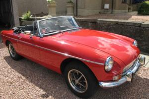 MGB Roadster MG Roadster MGB Roadster MG Coupe Photo