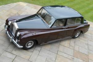 "ROLLS ROYCE PHANTOM V ""Park Ward"" Formal State Limousine 1961 MAY PX Photo"