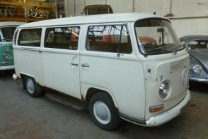1968 VW Microbus. Original paint, RUNNING & DRIVING project vehicle.Red interior