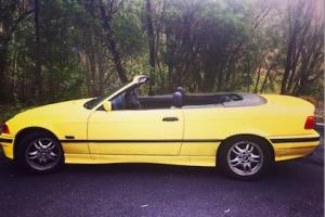 1995 BMW 328i Convertible With 12 Months Rego Relisted DUE TO Sale Fall Through in NSW