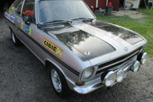 1972 Opel Kadett Rallye 1900 Sprint, FIA Historic group 1